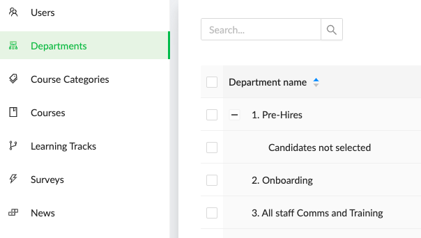 CreateLMS use groups and auto assign content for hiring